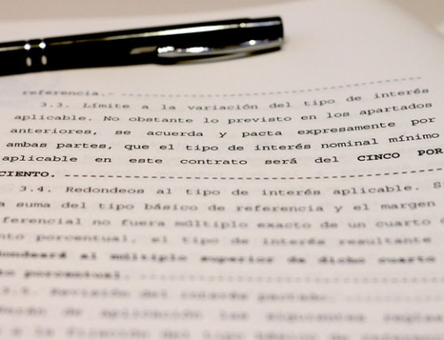 ¿Cómo encontrar la cláusula suelo en la escritura?