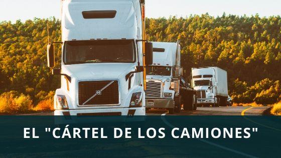 Cartel de los camiones